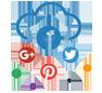 Activity on social media