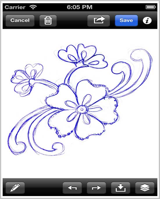 Draw Book(iphone5)