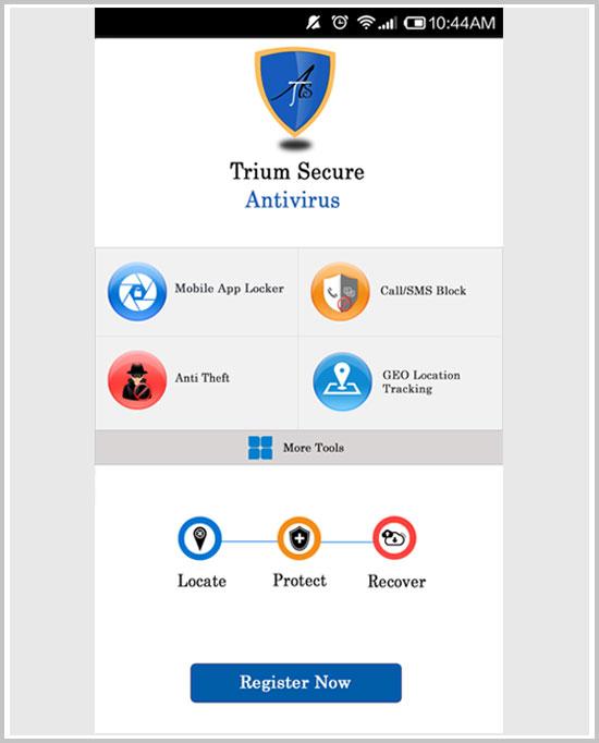 Trium secure antivirus