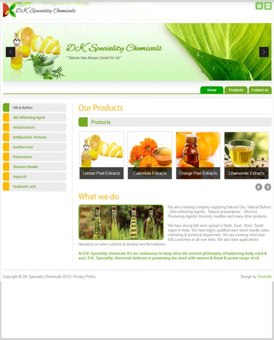 D.K Speciality chemicals