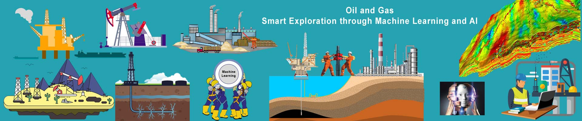 Oil and Gas–Smart Exploration through Machine Learning and AI